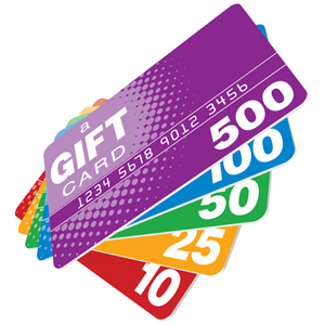 Gift Card, loyalty card