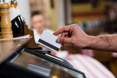 merchant services, Credit card processing